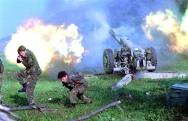 1992. Ο Βοσνιακός στρατός βάλει εναντίον σερβικών θέσεων