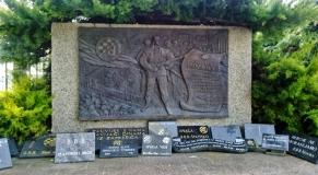 μνημείο στο Ζάγκρεμπ στη μνήμη όσων κροατών φιλάθλων τραυματίστηκαν στον αγώνα