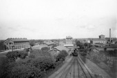 η υπεραστική στάση Πολίτσκ γύρω στα 1900