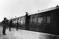 το τσαρικό τρένο στο σταθμό του Μογκιλιόβ τον Αύγουστο του 1915
