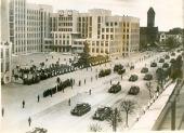 συγκέντρωση για τα 15 χρόνια απελευθέρωσης της Λευκορωσίας από την πολωνική κατοχή. 1935 Μινσκ
