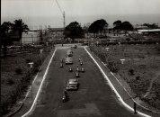 Monrovia, Λιβερία, Μάρτιος 1961. η προεδρική πομπή έξω από το κτήριο του κοινοβουλίου