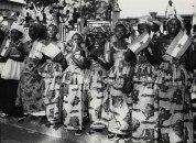 Conakry, Guinea, Μάρτιος 1961. Στο δρόμο για την προεδρική κατοικία στο Conakry