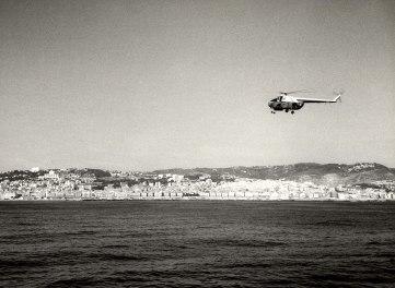 Algiers, Algeria, Απρίλιος 1965. Φτάνοντας στο λιμάνι της πόλης