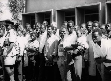 Ναϊρόμπι, Κένυα, Φεβρουάριος 1970. Επίσκεψη στη φάρμα του πανεπιστημίου Kabete