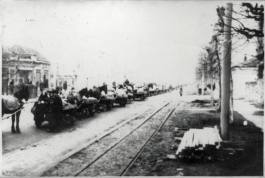 οι γραμμές του τρένου από την Κροατία για τα στρατόπεδα συγκέντρωσης