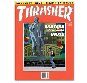 Αμερικάνικο περιοδικό της εποχής με ρεπορτάζ για την κουλτούρα του skate στην Ρωσία. Ο τίτλος απλά ένα έπος!