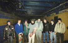 στο υπόγειο του Olympiiskogo
