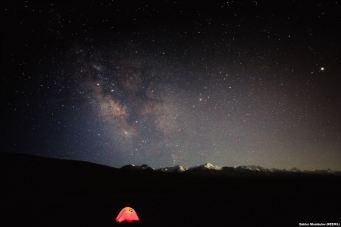 Θέα από το δάσος Ρανίνσκι στο Καζακστάν