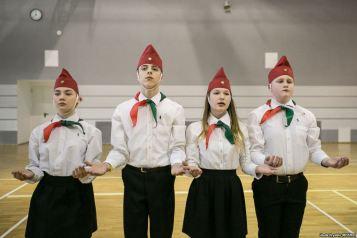 """""""Σοβιετικοί"""" πρόσκοποι στην Λευκορωσία"""
