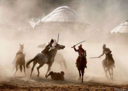 Κιργιστάν-παγκόσμιο πρωτάθλημα νομαδικής κουλτούρας.